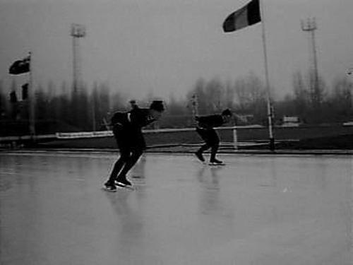 Kampioen van Nederland schaatsen lange baan Jaap Edenbaan Vroege en Van der Gr…