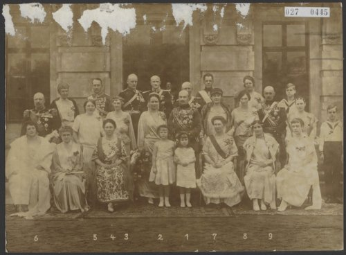 Huwelijk van de hertog van Mecklenburg.nrs. 1 en 2 hertog Friedrich Adolf en ec…