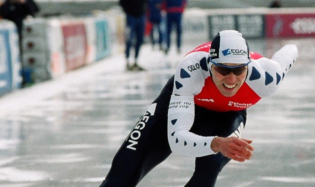 Wel Of Geen Klapschaats.16 Februari 2002 Gerard Van Velde Wint Goud Op De Klapschaats